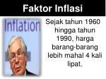 faktor inflasi