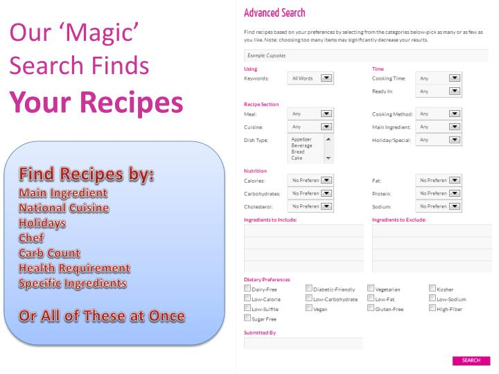 Our 'Magic' Search Finds