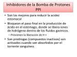 inhibidores de la bomba de protones ppi