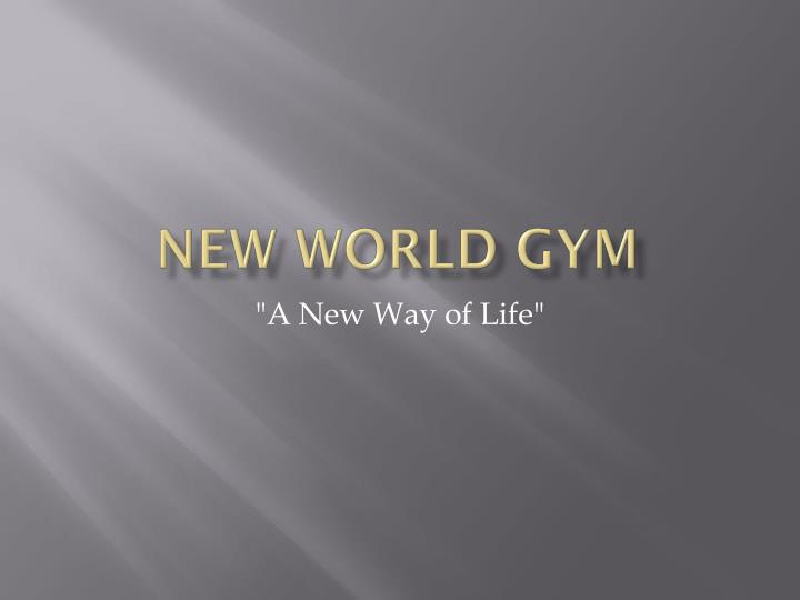 new world gym n.