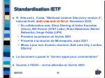 standardisation ietf