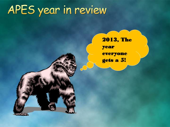apes year in review n.