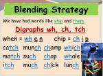 blending strategy1