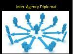 inter agency diplomat