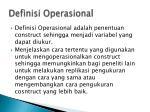 definisi operasional