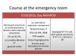 course at the emergency room3