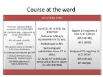 course at the ward1