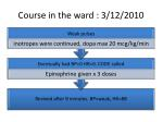course in the ward 3 12 2010