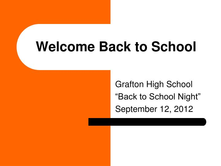 welcome back to school n.