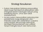 strategi kesukanan