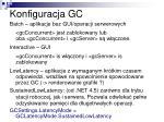 konfiguracja gc2