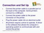 connection and set up1