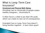 what is long term care insurance2
