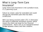 what is long term care insurance5