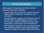 peran pendidikan