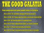 the good galatia