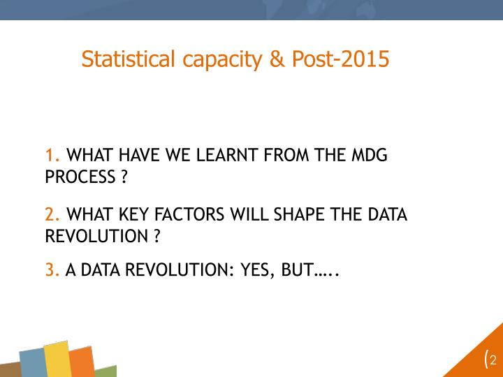 Statistical capacity & Post-2015