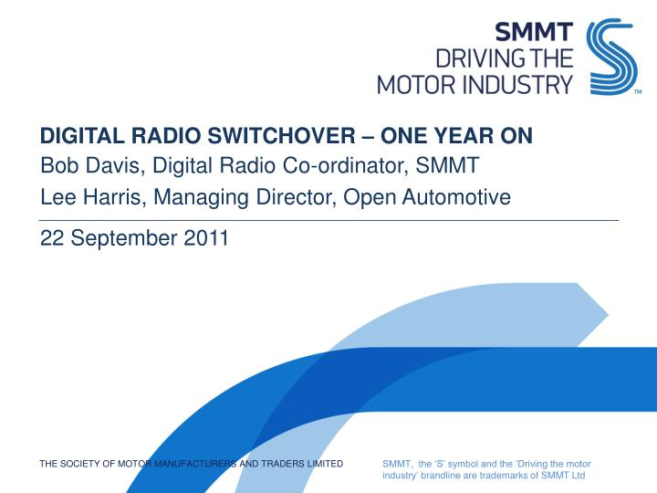 digital radio switchover one year on n.
