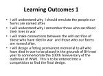 learning outcomes 1
