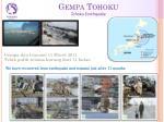 gempa tohoku tohoku earthquake