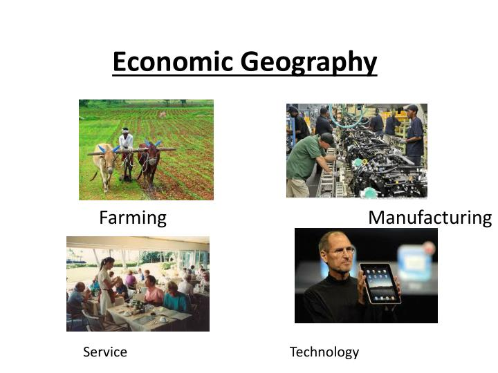 economic geography n.