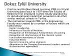 dokuz eyl l university1