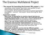 the erasmus multilateral project2