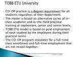 tobb etu university