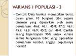 varians 1 populasi 3