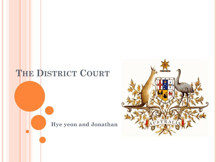 the district court n.