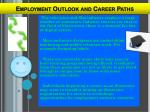 employment outlook and career paths2