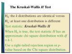the kruskal wallis h test2