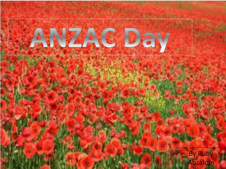 anzac day n.