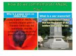 how do we commemorate anzac day