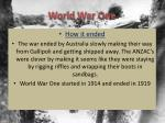 world war one1