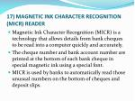 17 magnetic ink character recognition micr reader