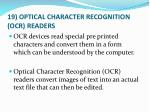 19 optical character recognition ocr readers