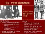 1918 fronte occidentale