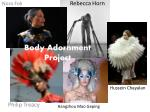 body adornment project
