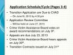application schedule cycle pages 3 4