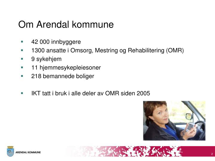 Om arendal kommune