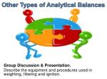 other types of analytical balances1