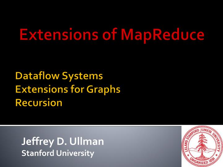 dataflow systems extensions for graphs recursion n.