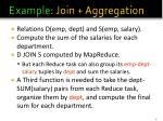 example join aggregation