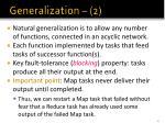 generalization 2