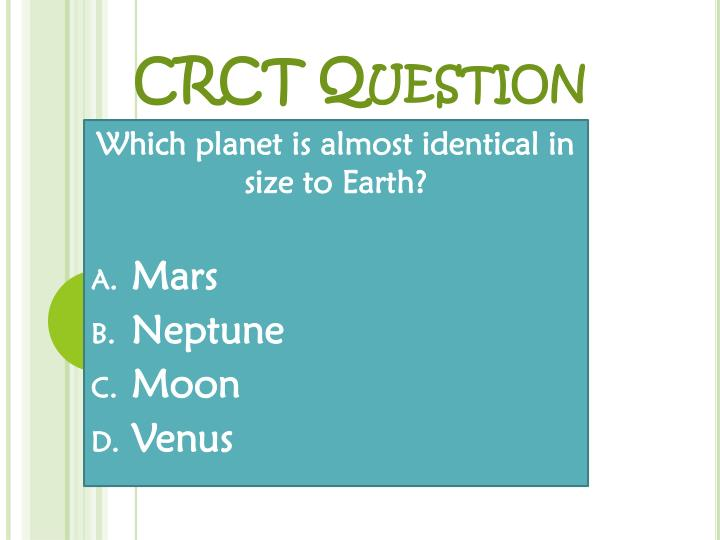 crct question n.
