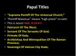papal titles1