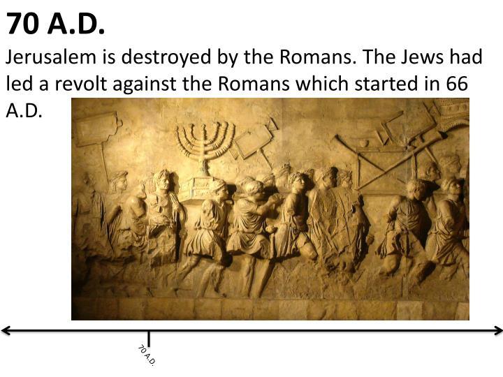 70 A.D.