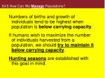 54 5 how can we manage populations