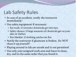 lab safety rules1
